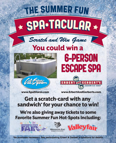 Win a Spa with the Summer Spa-tacular!