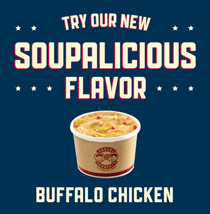 New Soup: Buffalo Chicken