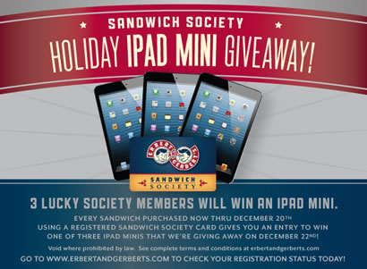 Holiday iPad Mini Giveaway
