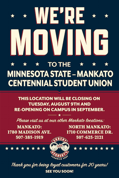 Mankato's Moving!