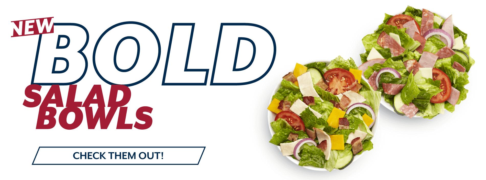 Erbert & Gerbert's Bold Salad Bowls